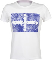 Eureka Flag T-shirt - White