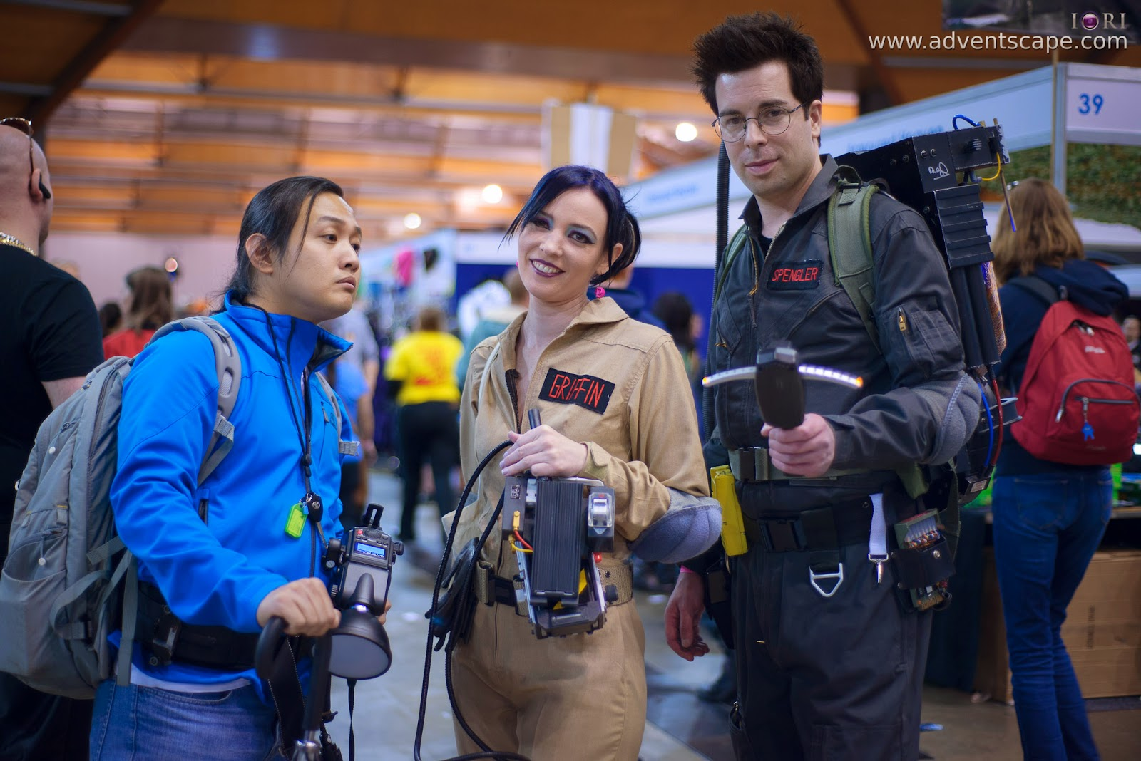 Australia, Australian Landscape Photographer, Cosplay, Homebush, New South Wales, NSW, Philip Avellana, Sydney Olympic Park, Ghostbusters, Egon, Spengler, Griffin
