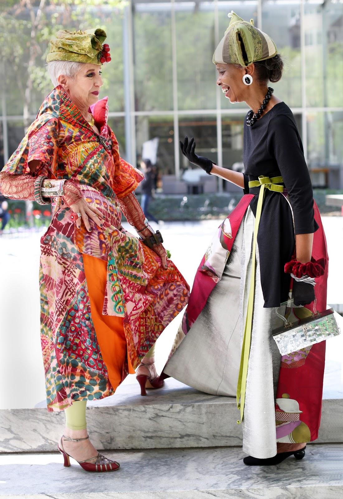 Streetstyle cực chất của những fashionista bô lão ảnh 6
