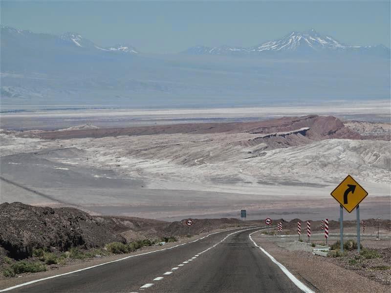 Carretera a San Pedro de Atacama