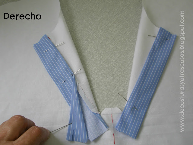 como coser cierre polo paso a paso