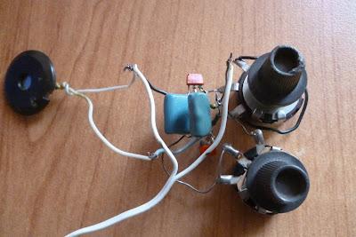 Мультивибратор на транзисторах КТ315А в собранном виде