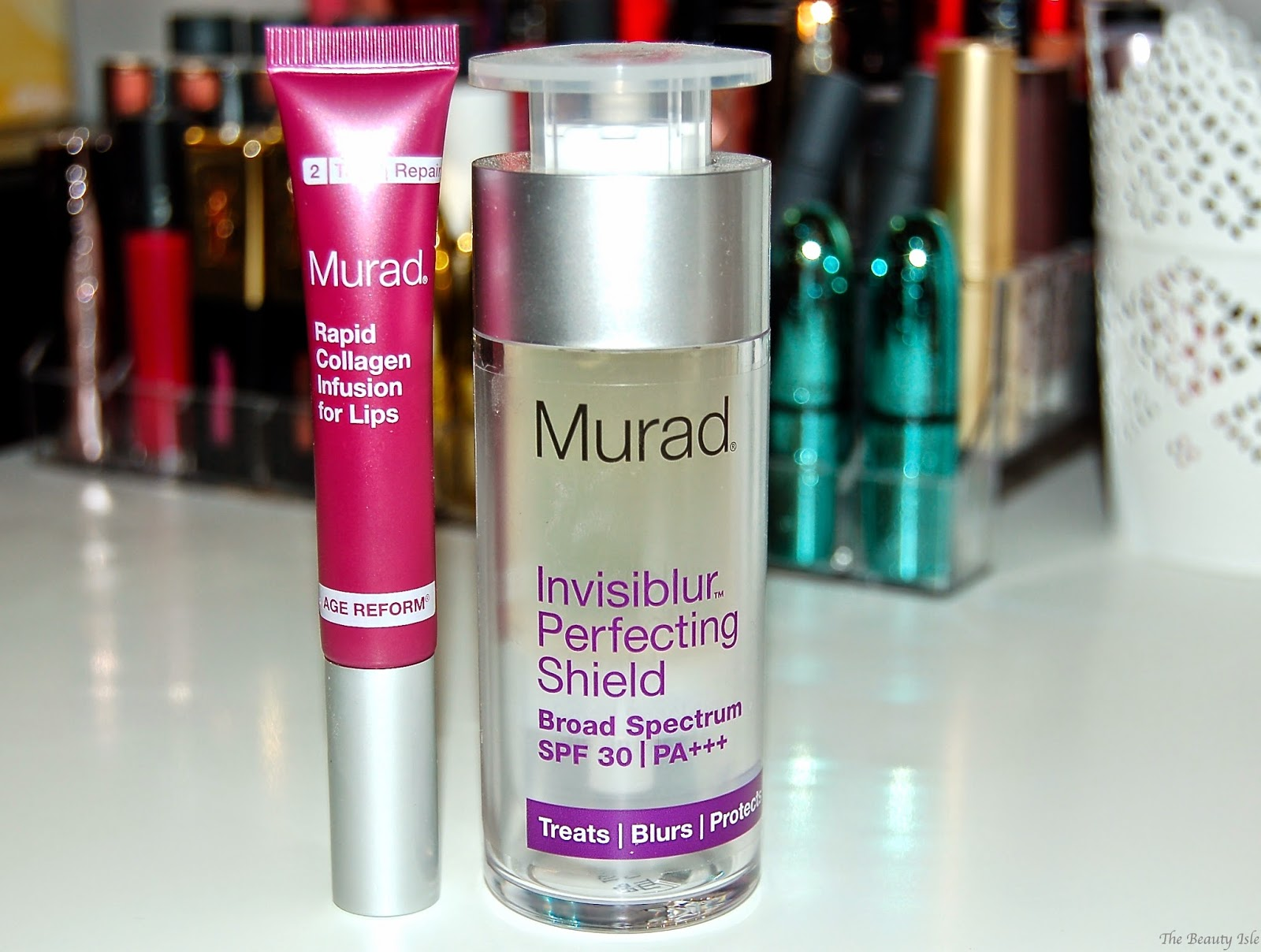 Murad Rapid Collagen Infusion for Lips & Invisiblur Perfecting Shield Primer