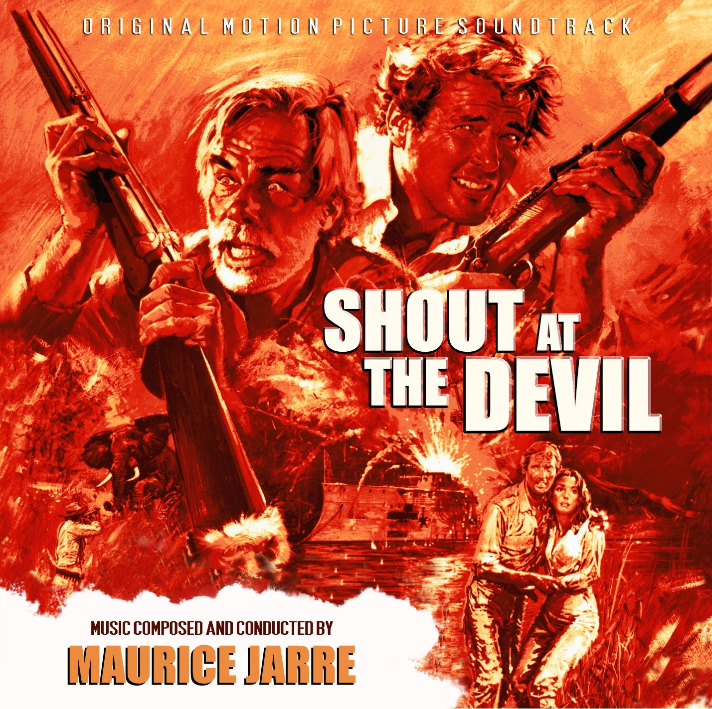 Music Of My Soul: Maurice Jarre-1976-Shout At The Devil