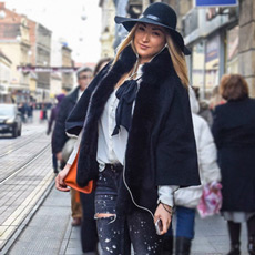 Style idea how to wear your distressed jeans in winter months, Zagreačka zimska špica i stajling inspiracije