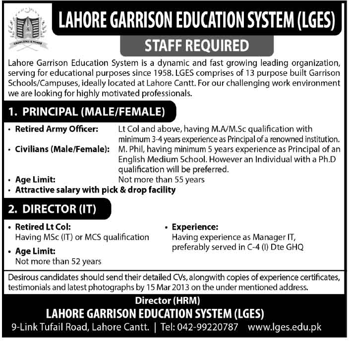 www-lges-edu-pk-jobs-advertisement