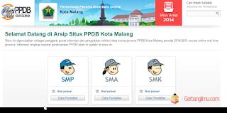 Situs Jadwal PPDB Kota Malang 2015