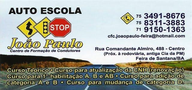 AUTO ESCOLA JOÃO PAULO