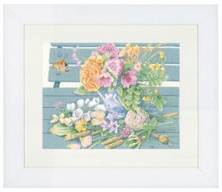 Lanarte. Цветы на скамейке (Flowers On Bench)