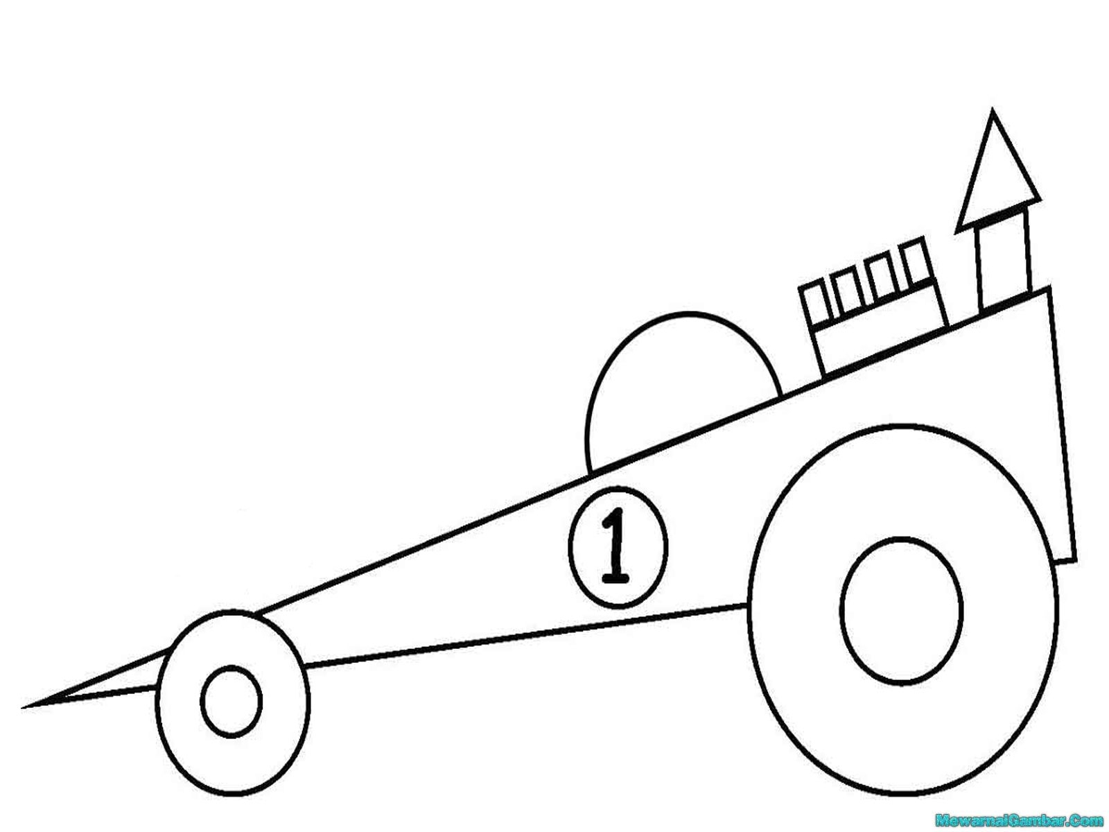 Basic Car Coloring Pages : Free coloring pages of basic car