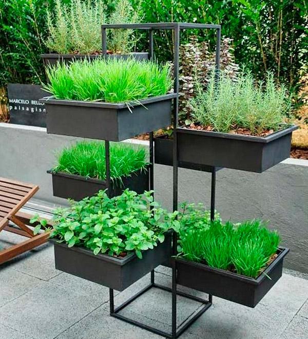 Ideias De Hortas ~ Nosso Mundo Minha Casa 20 ideias de horta vertical