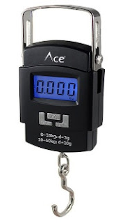 Ace Digital Hanging Cylinder Raddi Luggage Weighing Machine