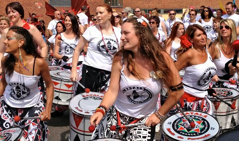 Liverpool Batala  - Philippine disaster fundraising December 2014