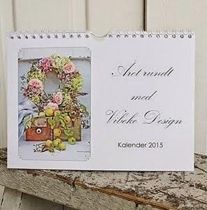 Vibeke Design har gitt ut årskalender !