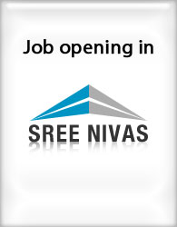 wanted in Pondicherry Sree Nivas Buildtech