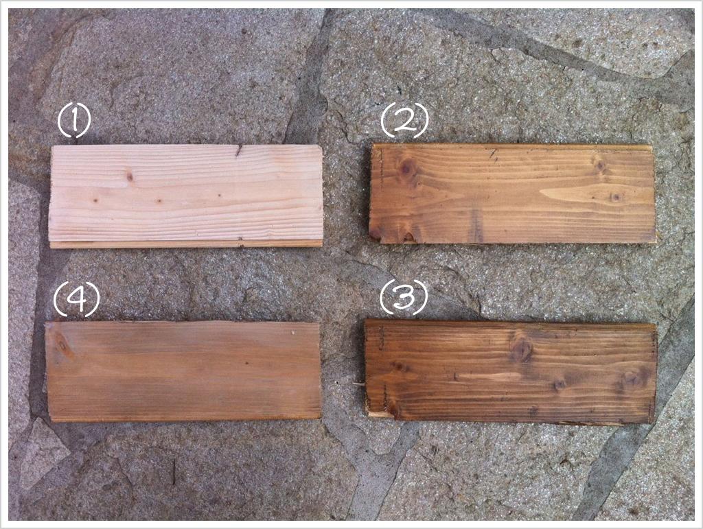 Pavimento in legno prove di pittura shabby chic interiors - Come decapare un mobile scuro ...