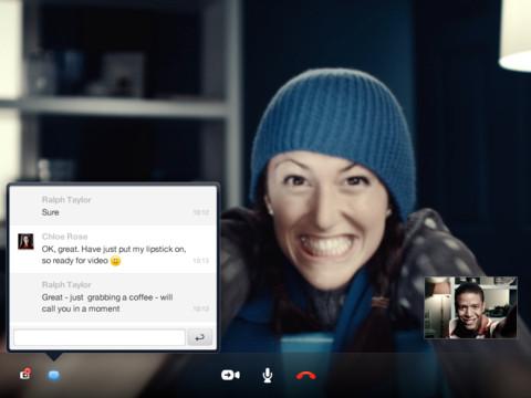 Skype App For iPad 3