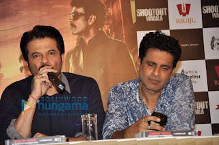 Anil Kapoor, Manoj & Sonu Sood at the press conference of 'Shootout At Wadala'