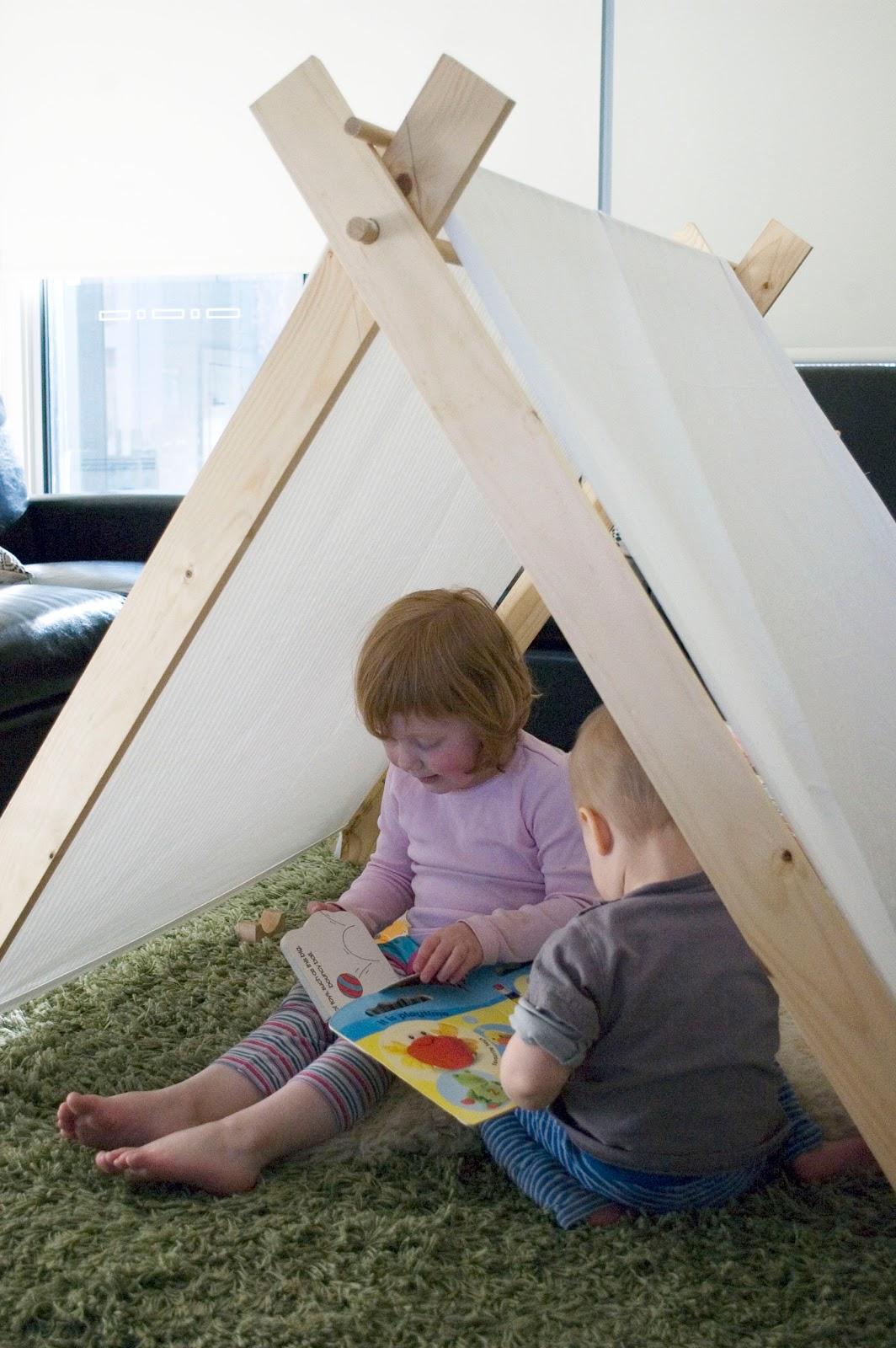 Grace Designs: DIY: A-Frame Tent Review