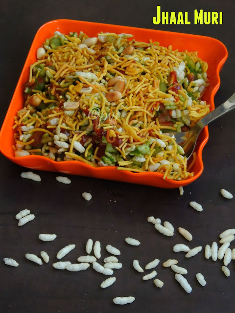 Jhal Muri, Bengali Jhal Muri, Bengali street food