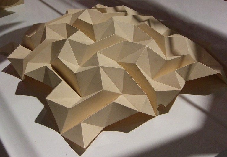 Folded Paper Art Structures Oinkfrog