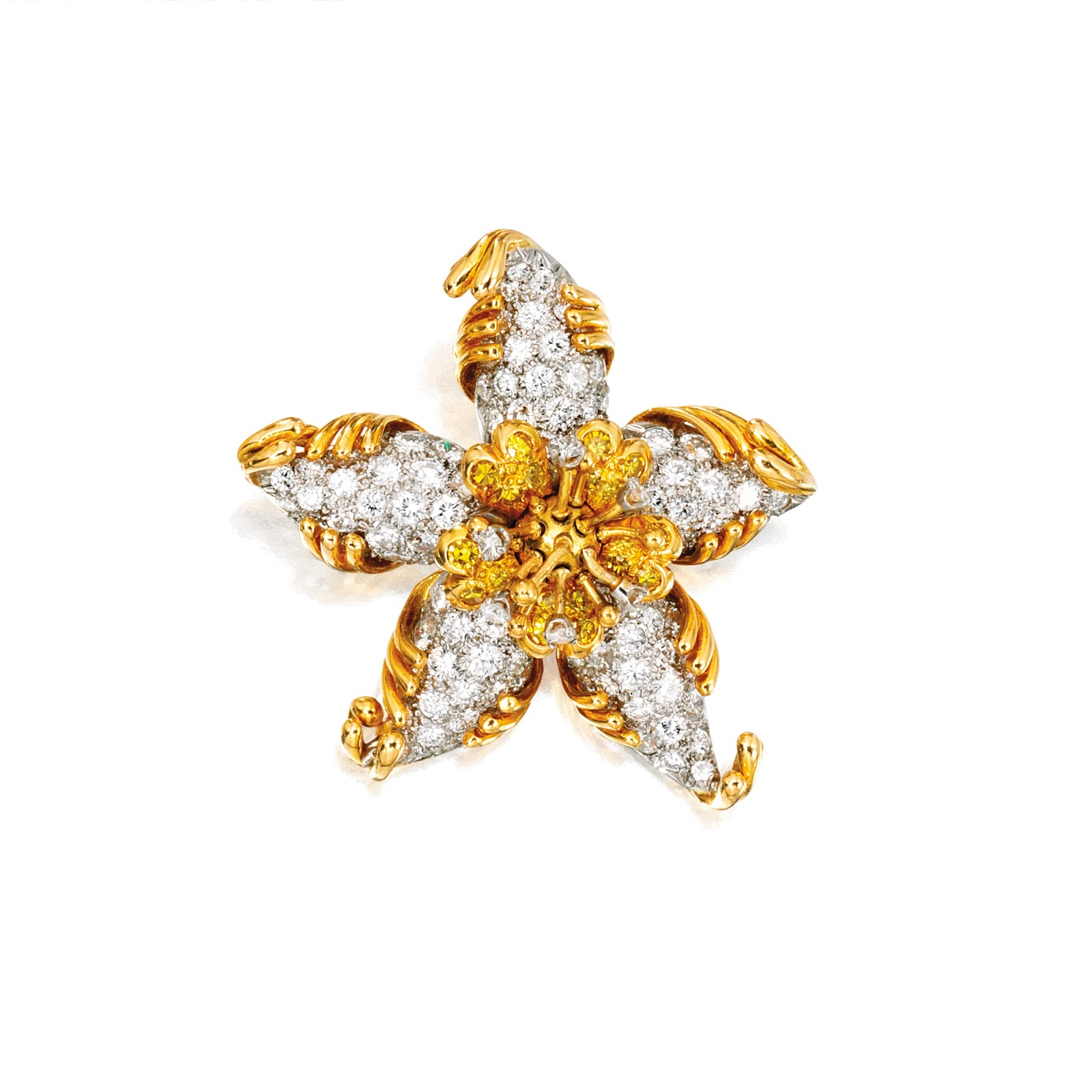 Marie Poutine's Jewels & Royals: Jewels by Schlumberger II Gold And Diamonds