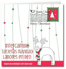 INTERCAMBIO TARJETAS DE NAVIDAD