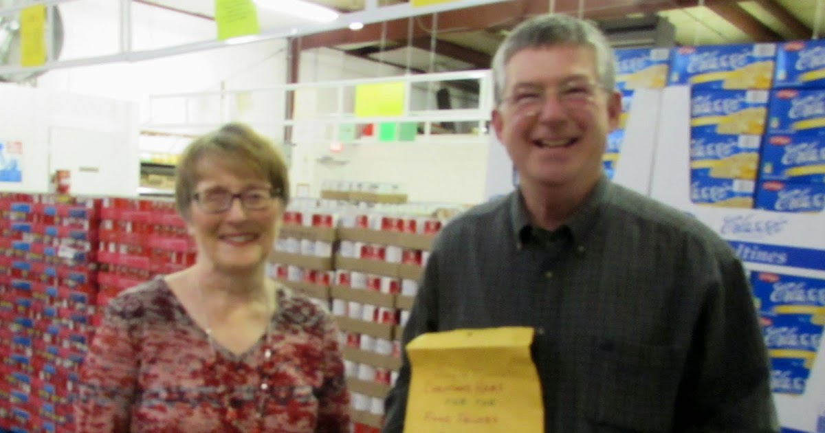 Greenfield Indiana Kiwanis Food Pantry Contribution
