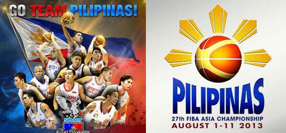 2013 Gilas Pilipinas Team FIBA