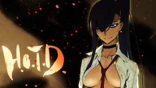 Saeko Busujima Highschool of the Dead HOTD Sexy Girl Cleavage Anime HD Wallpaper Desktop PC Background 1646