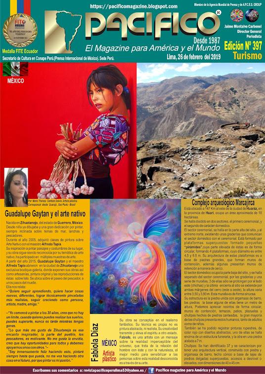 Revista Pacifico N° 397 Turismo
