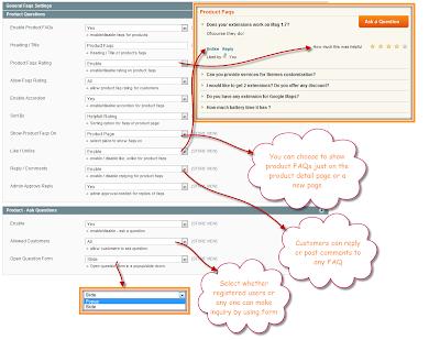 Magento FAQ Configuration