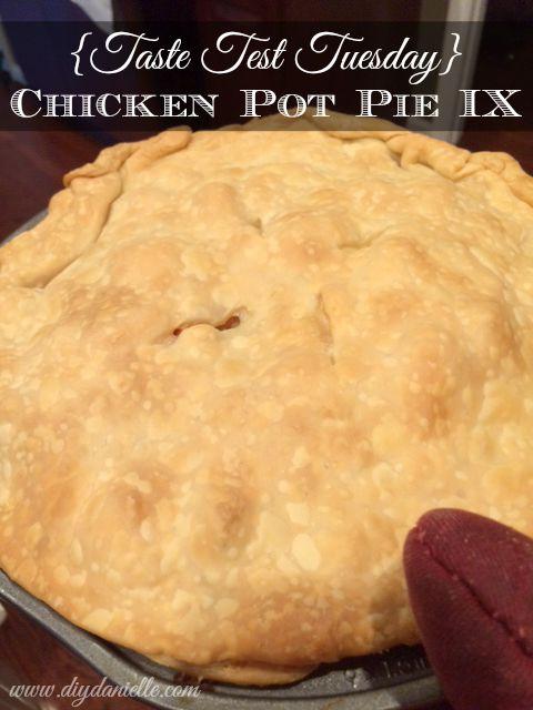 Taste Test Tuesday} Chicken Pot Pie IX | DIY Danielle