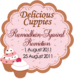 CONTEST DUIT RAYA DELICIOUS-CUPPIES!