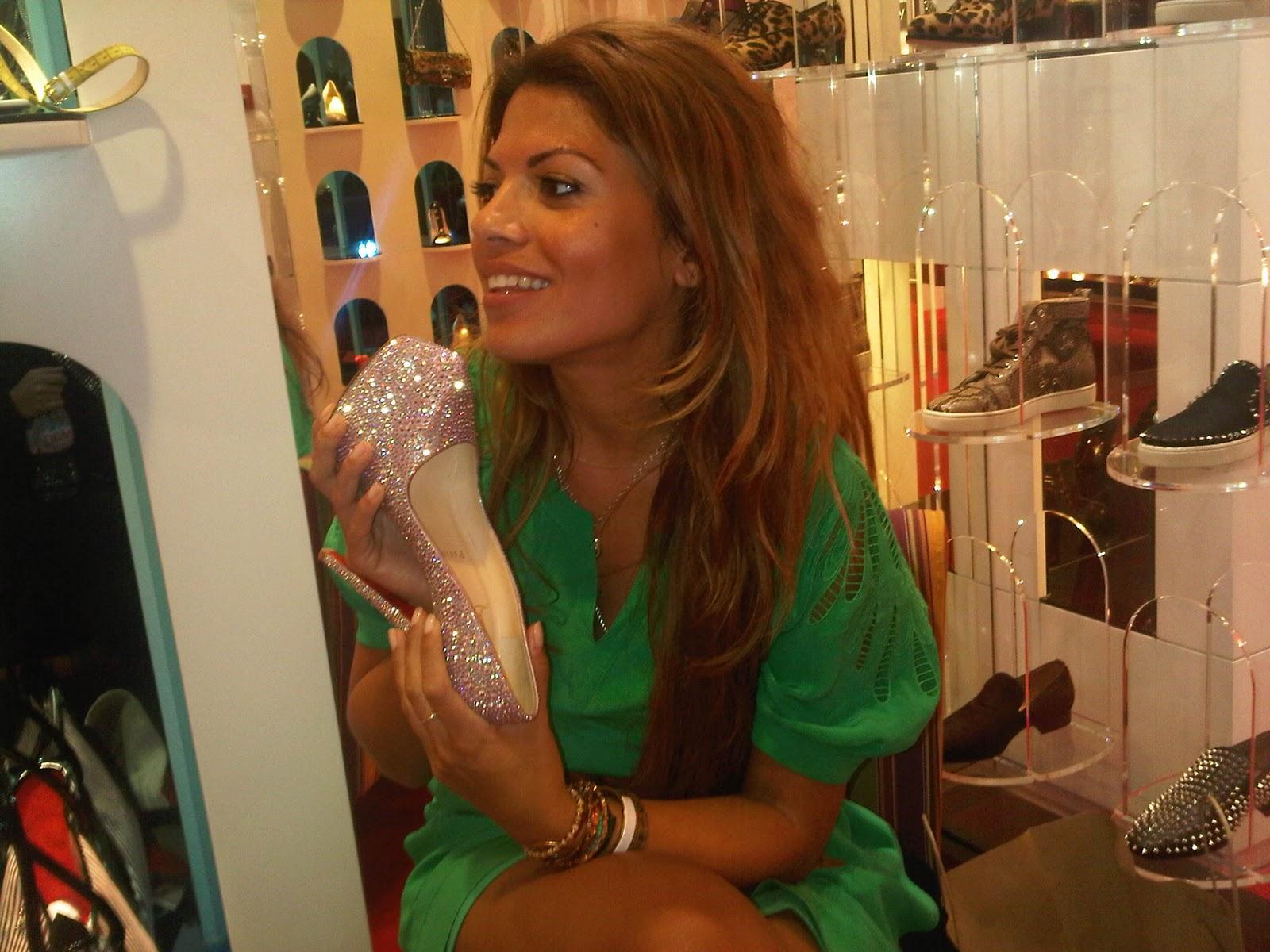 louboutin shoes jeddah - Bavilon Salon