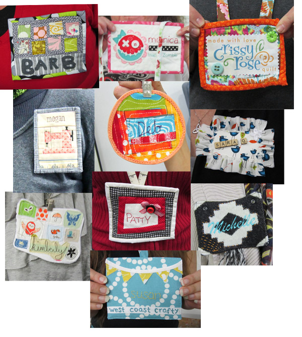 act 2 name tags portland modern quilt guild