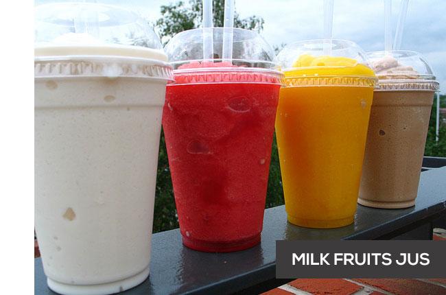 Usaha Kecil Milk Fruits Jus