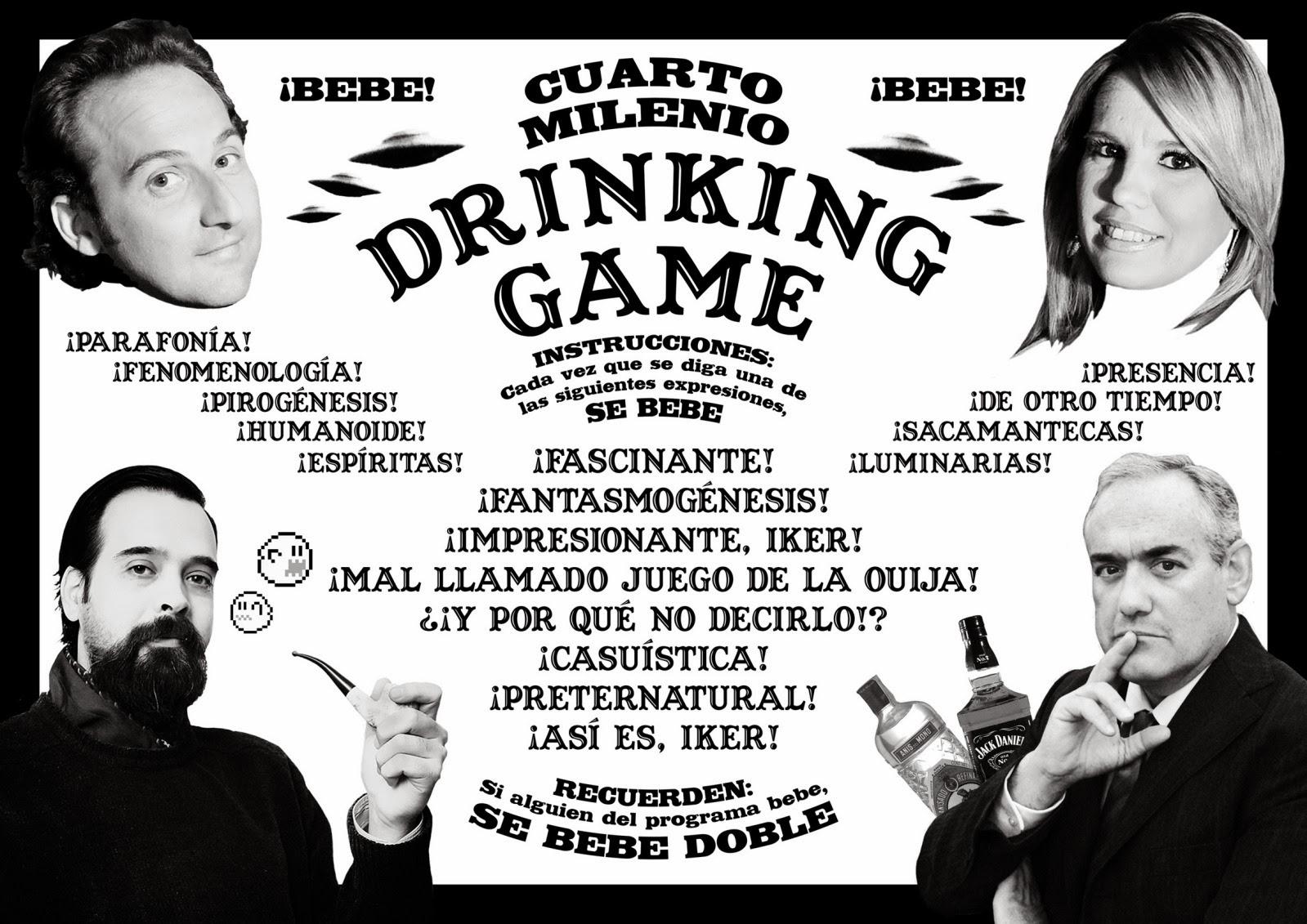 mihteriohdelasiensia: \'Cuarto milenio drinking game\'