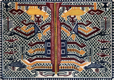 Motif batik Lampung