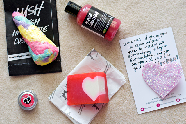 LUSH Valentine's specials products 2015