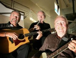 The Wolfe Tones, who perform on Saturday and Sunday in the Main Tent