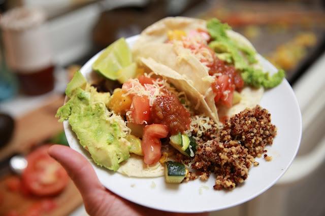 Organic Veggie Tacos