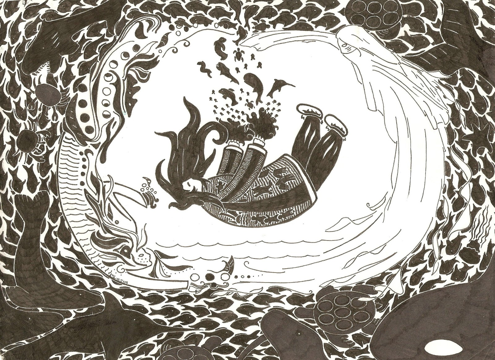 Mythologies: Sedna (Inuit Creation Story)