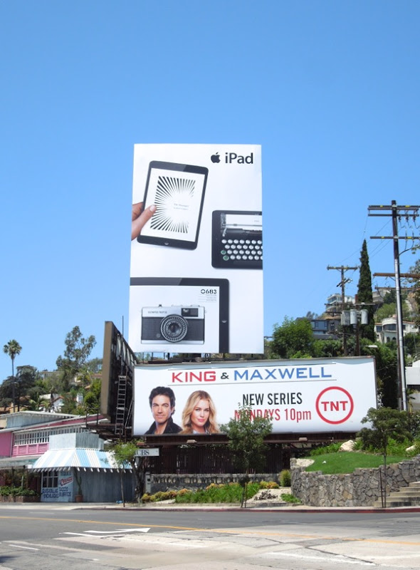 Apple iPad Summer 2013 billboard