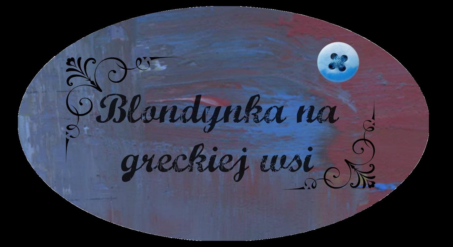 Baner: blondynka na greckiej wsi