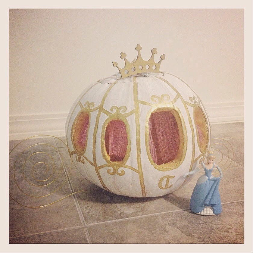 Princess Carriage Halloween Pumpkin