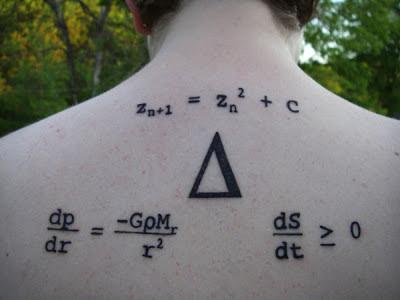Tatuaje Ecuación