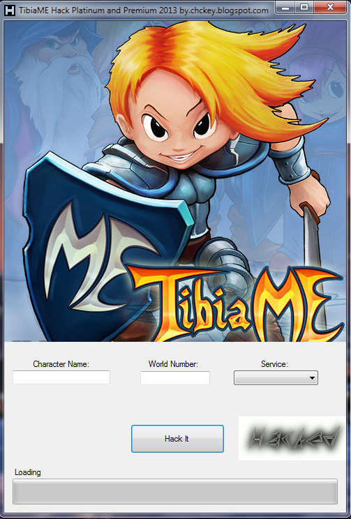 TibiaME Hack Platinum and Premium 2014