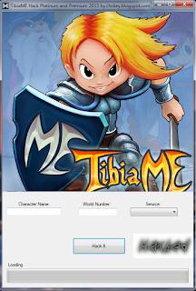 TibiaME Hack Platinum and Premium 2015