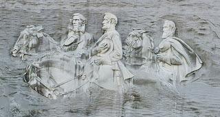 The Confederate Memorial Carving (Amerika Serikat)